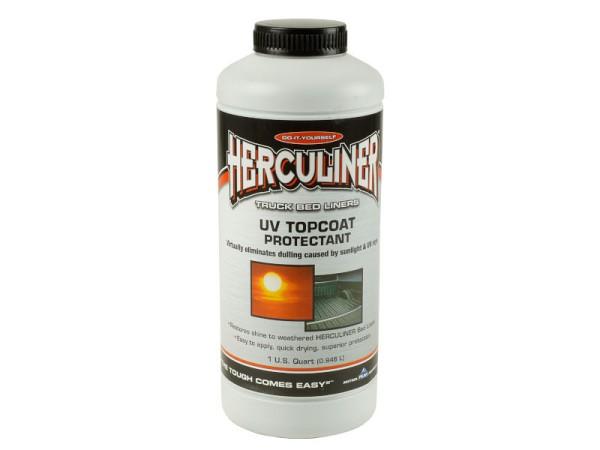 Herculiner UV Schutz 7m² Topcoat für schwarze Beschichtung