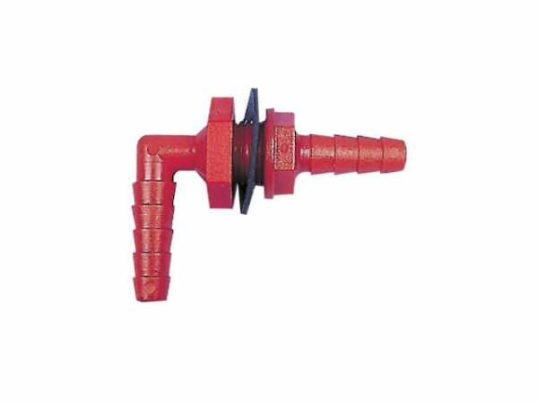 Winkelverschraubung zur Wasserentnahme 10-12mm