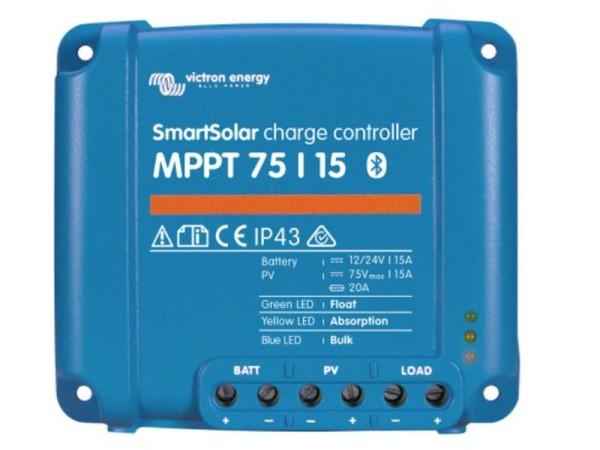 Victron Smartsolar MPPT 75/15 Solar Laderegler 15A 12V 24V mit Bluetooth
